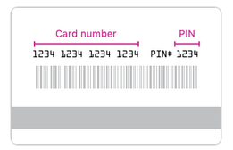 Walmart Gift Card PIN